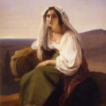 Fig. 13 Francesco Hayez, «La ciociara», 1842, olio su tela (collezione privata)