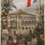 Fig. 08 «Exposition de 1900. Pavillon de Madagascar», in «Le Petit Journal Illustré», 1 avril 1900, p. v.