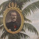 Fig. 10 «Exposition de 1900. Pavillon de Madagascar» (particolare), in «Le Petit Journal Illustré», 1 avril 1900, p. v.
