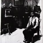 Fig. 20 «L'assassin de Choisy-le-Roi à l'anthropométrie», in «Le Petit Journal Illustré», 7 mai 1899, p. viii.