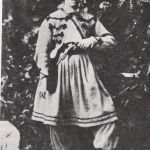 Fig. 06. Volontaria garibaldina, 1866, fotografia (Museo del Risorgimento, Milano)