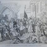 Fig. 16. «Ancona resiste vittoriosa alle armi del Tedesco Federico Barbarossa - Grande quadro del Cavaliere F. Podesti», in «Il Mondo Illustrato», 9 dicembre 1848.
