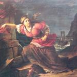 Fig. 18. Francesco Podesti, «Stamura che incendia le macchine all'assedio di Ancona», olio su tela, 1877 (Palazzo comunale, Bertinoro)