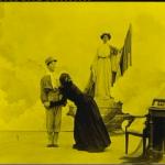 Fig. 2b – L'apoteosi finale del film «Il piccolo garibaldino» (Cines, 1909)