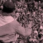 Fig. 4 – Garibaldi arringa la folla in una scena del film «I Mille» (Ambrosio, 1912)