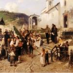 Fig. 3b – Gerolamo Induno, «La partenza dei coscritti nel 1866», 1878, olio su tela (Museo del Risorgimento, Milano)