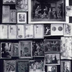 Fig. 11 – Aby Warburg, «Tav. 46 , La ninfa-ancella», 1929, Bilderatlas Mnemosyne